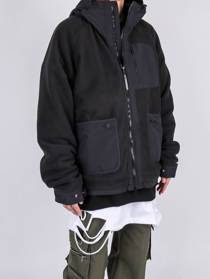 SN Two-Way Fleece Zip Up (2color)