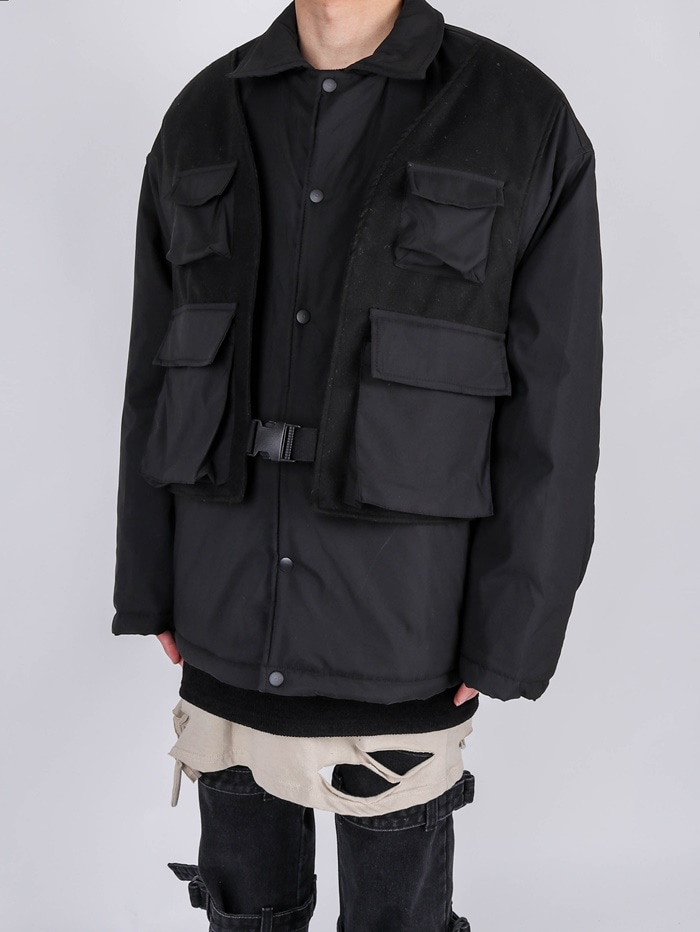 DS Tech Vest Jumper (2color)