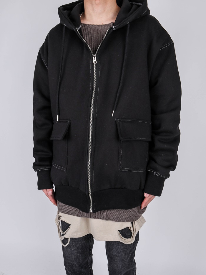 NW Stitch Hood Zip Up