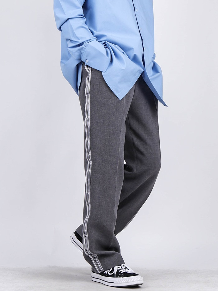 AW Line Striped Slacks (2color)
