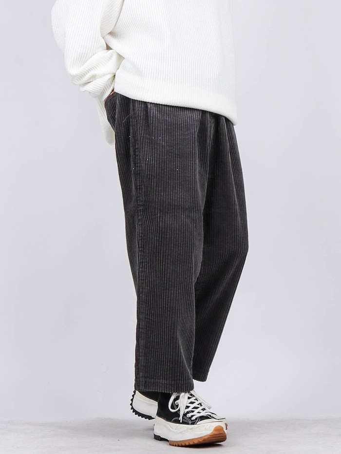 PM 02 Crop Corduroy Pants (4color)