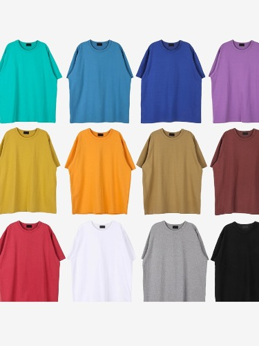 DR High Quality Short Sleeve Tee (12color)