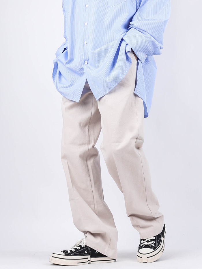 NV Long Wide Cotton Pants (3color)