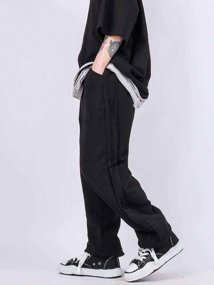 SC Side Pleated Wide Pants (2color)